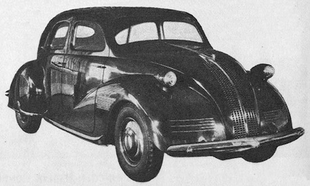 Lincoln Zephyr prototyp