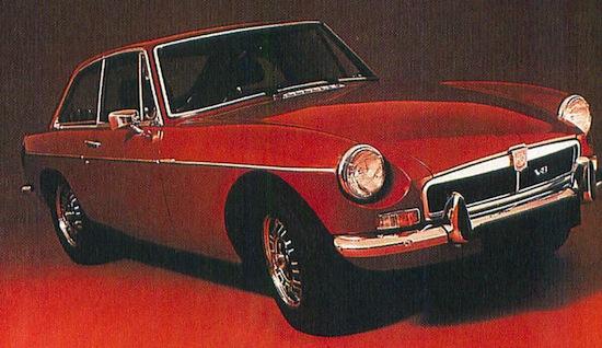 MG B GT V8 a