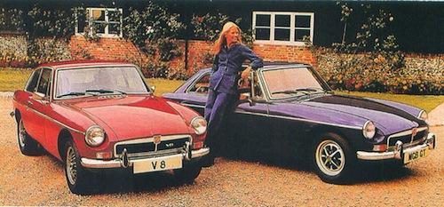 MG B GT V8 c
