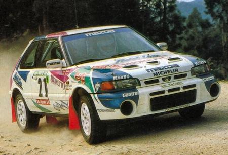 Mazda 323 GTR Rallye-car