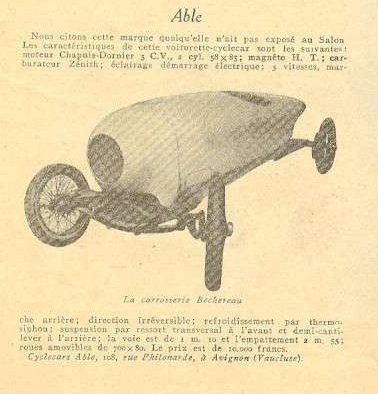 Able Cyclecar
