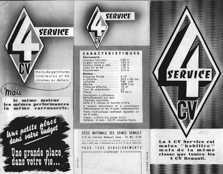 Renault 4CV Service (4)