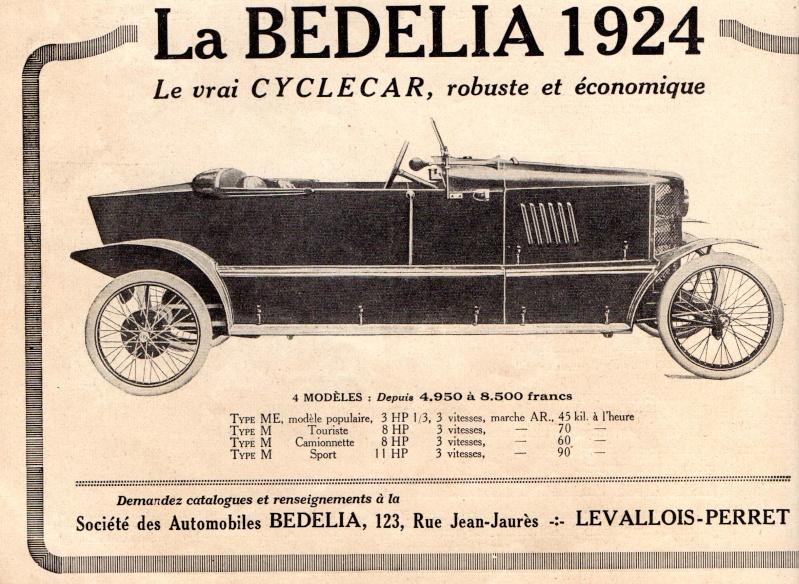 bedelia 1924