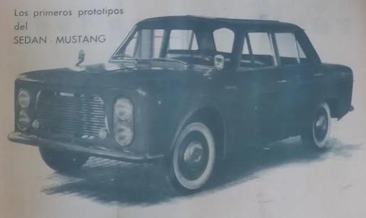 SEDAN Mustang (a)