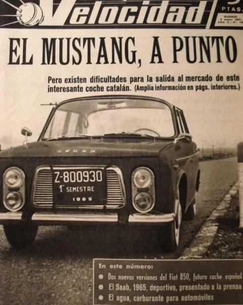 Sedan Mustang (1)