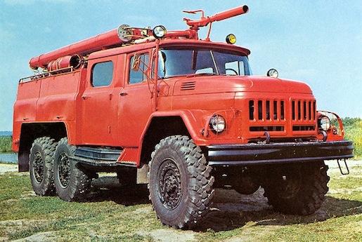ZIL-131 pompier