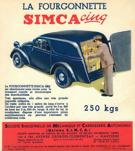 Simca 5 fourgonnette (1)