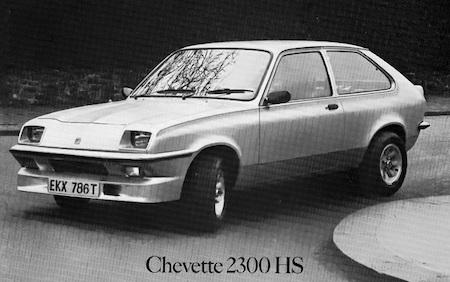 Vauxhall Chevette 2300 HS (d)