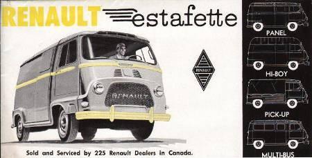 Renault Petit Panel gamme