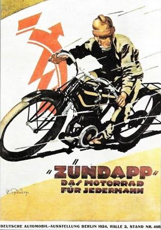 zundapp moto 1924
