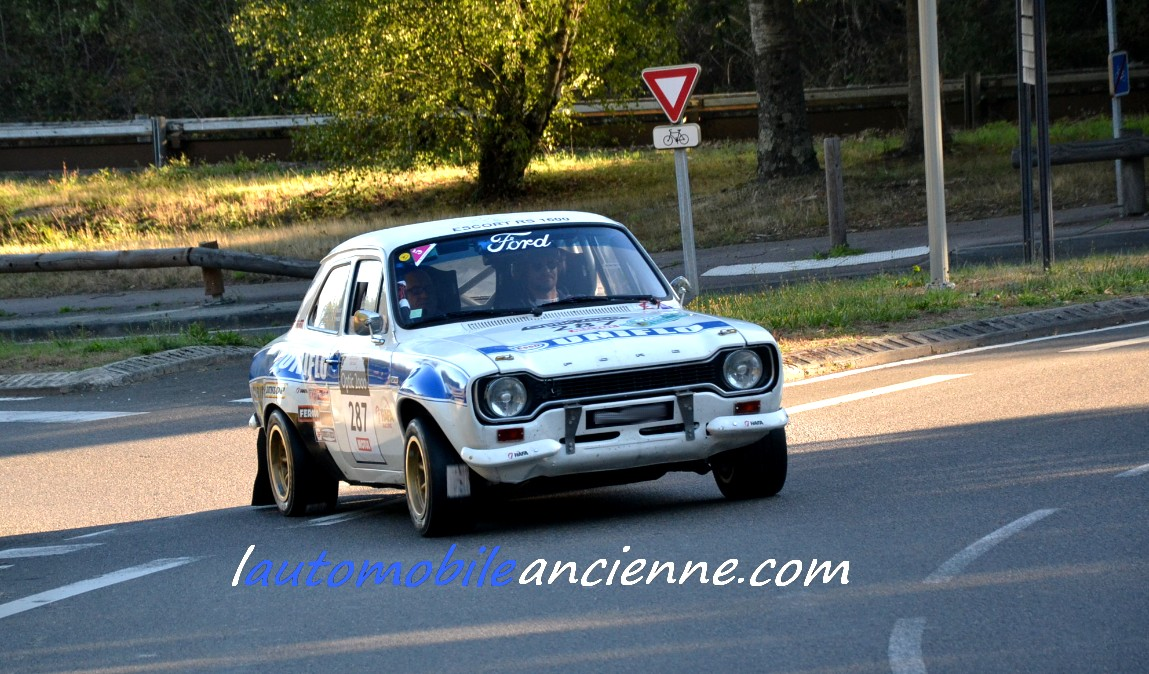 FORD Escort MK1 RS 1600 1975 - Tour Auto 2020 (1)