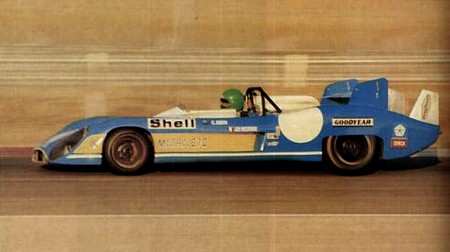 Matra MS670 - avril 1972 (1)