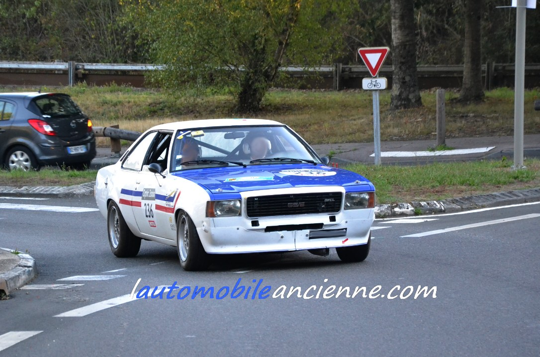OPEL Commodore GSE 1975 - Tour Auto 2020 (1)