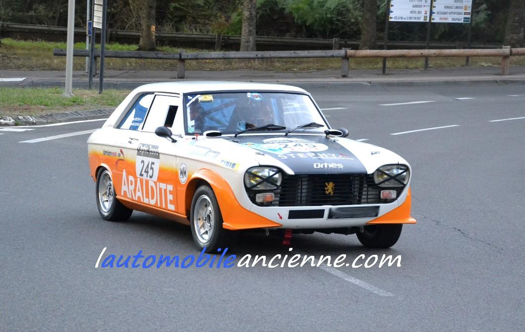 PEUGEOT 204 Coupé Gr.2 1969 - Tour Auto 2020 (1)