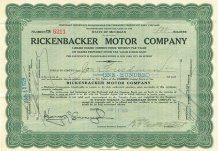 RICKENBACKER - action