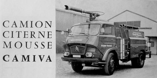 Citroën Type N Citerne Mousse CAMIVA GUICHARD