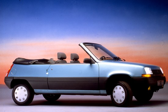Renault supercinq cabriolet EBS (1)