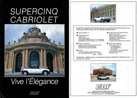 Renault supercinq cabriolet EBS (3)