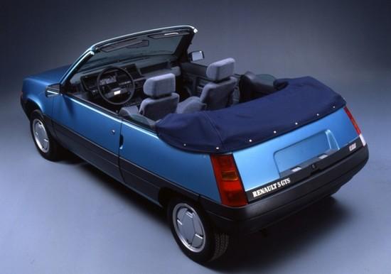Renault supercinq cabriolet EBS