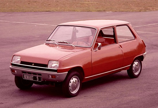 renault 5 pré-série 1971