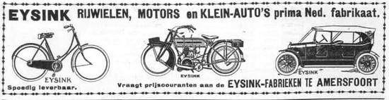 publicité 1919