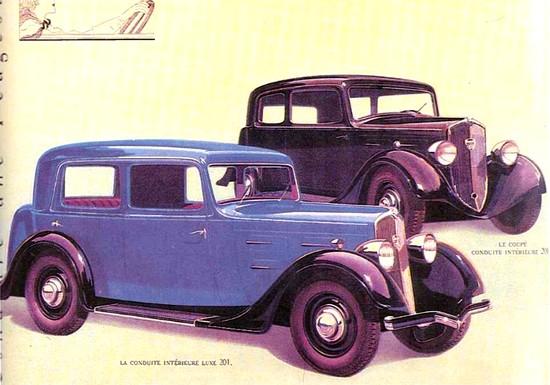 Peugeot 201 - 1934 (1)