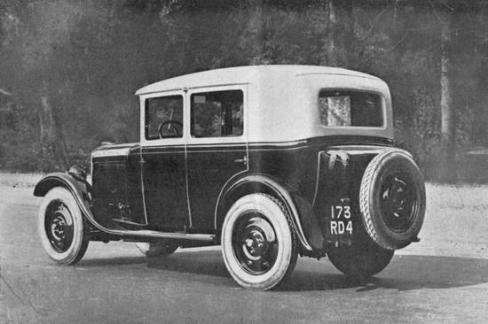 PEUGEOT 201 Berline (1929) 1