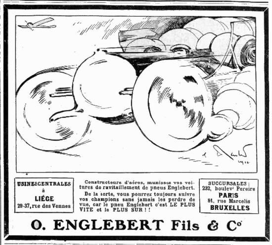 Englebert - pub 1911