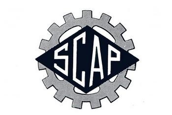 SCAP moteurs logo