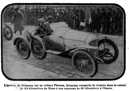 Pierron Tour de france 1914
