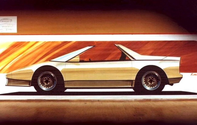 1978 - etude Pontiac Fiero