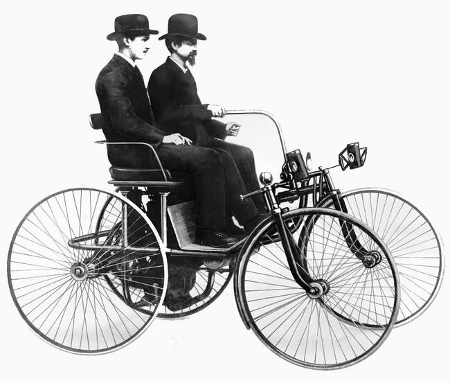 Benz Stahlradwagen (1)