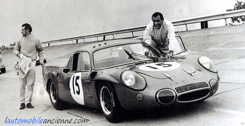 Alpine A210 1000km paris 1966 (1)