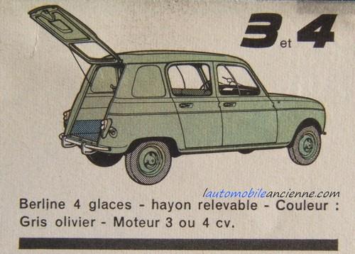 Renault 3 (1961-1962) | l'automobile ancienne