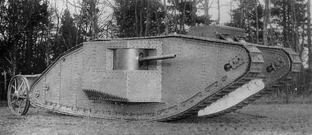 """15 septembre 1916""  Les chars arrivent . Tank-Mark-I-3"