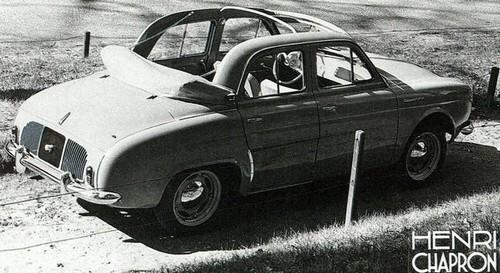 Renault Dauphine Découvrable Chapron (1)